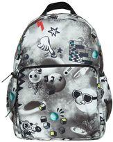 Molo Space & Doodles Nylon Canvas Backpack