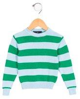 Oscar de la Renta Boys' Striped Long Sleeve Sweater