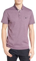 Ted Baker Men's Frankiy Ribbed Hem Polo