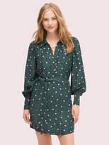 Kate Spade pop dots shirtdress