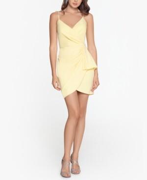 Thumbnail for your product : Blondie Nites Juniors' Ruffled Scuba Crepe Dress