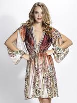 Baccio Couture - Sofia Silk Short Dress