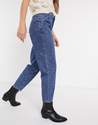 Object slouch jeans in blue