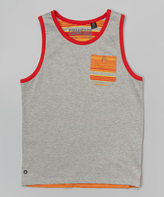 Micros Heather Gray Dennis Tank - Toddler