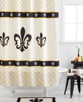 Avanti Avanti, Fleur De Lis Shower Curtain
