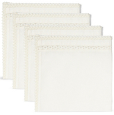 Marks and Spencer Lace Border Napkin 4 Pack