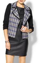 Juicy Couture Tinley Road Tweed Moto Jacket