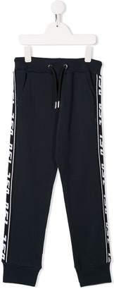 Diesel fine knit track pants