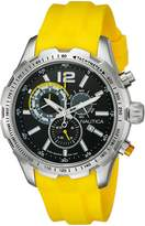 Nautica Men's NAD15514G NST 30 Analog Display Quartz Yellow Watch