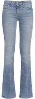 Current/Elliott The Slim Boot Mid-Rise Slim-Leg Jeans