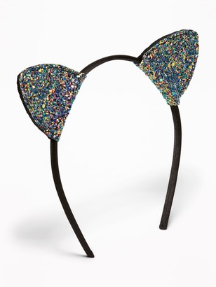 Old Navy Glitter Cat's-Ear Headband for Girls