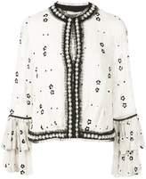 Alexis Celestia bead-embellished blouse