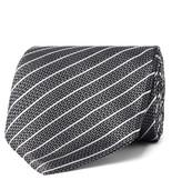 Tom Ford 8cm Striped Woven Silk Tie