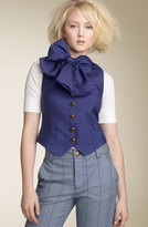 MARC BY MARC JACOBS Shantung Waistcoat Vest