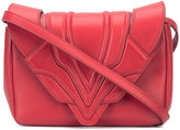 Elena Ghisellini envelope shoulder bag - women - Leather - One Size
