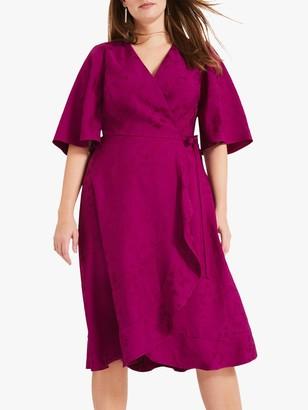 Studio 8 Nola Jacquard Dress, Magenta