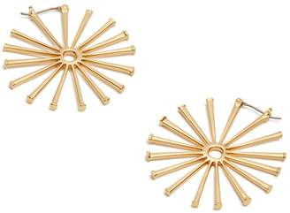 Tory Burch HORSESHOE NAIL EARRING