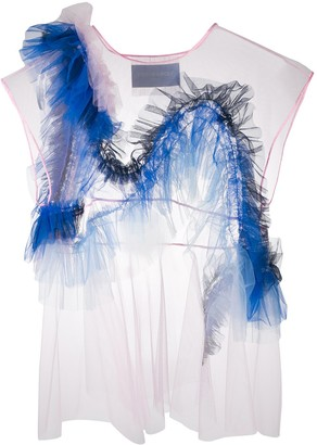 Viktor & Rolf Rainbow Wave top