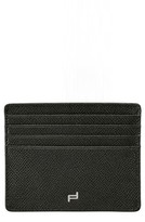 Porsche Design Men's French Classic 3.0 Leather Card Case - Black