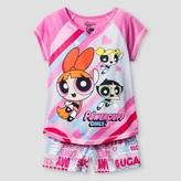 The Powerpuff Girls Girls' The Powerpuff Girls® Pajama Set - Pink