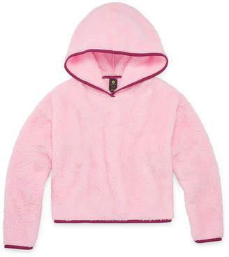 Minky Xersion Fleece Girls Hoodie - Preschool / Big Kid