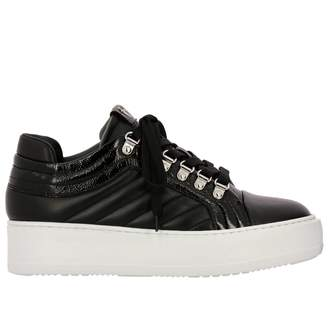 Paciotti 4Us Star Leather Sneakers