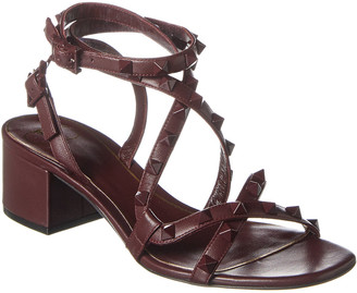Valentino Rockstud Flair 50 Leather Sandal
