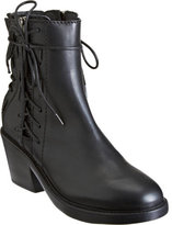 Haider Ackermann Sides and Back Lace Ankle Boot