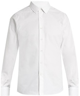 Valentino Button-cuff cotton shirt