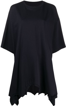 MM6 MAISON MARGIELA asymmetric T-shirt dress