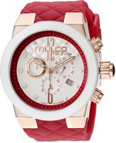 Mulco Women's MW5-2552-063 Couture Analog Display Swiss Quartz Red Watch