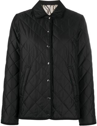 Salvatore Ferragamo Gancini reversible quilted jacket