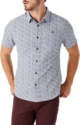 7 Diamonds Latitude Short Sleeve Performance Button-Up Shirt
