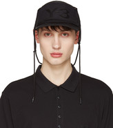 Y-3 Black Multif Cap