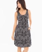 Soma Intimates Soft Jersey Knotted Waist Sleeveless Short Dress
