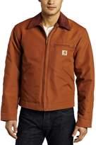 Carhartt Men's Big & Tall Duck Detroit Jacket Blanket Lined