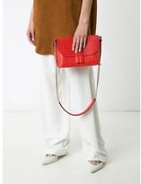 Loewe Avenue logo embossed shoulder bag