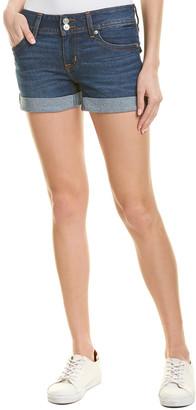 Hudson Jeans Ruby Lake Blue Mid-Thigh Short