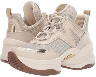 MICHAEL Michael Kors Olympia Trainer (Pale Gold) Women's Shoes