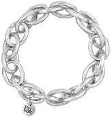 The Sak Silvertone Link Stretch Bracelet