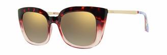 Lilly Pulitzer Women's Circe Oversized Sunglasses Polarized