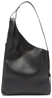 Aesther Ekme Lune Grained-leather Tote Bag - Black