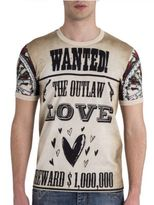 Dolce & Gabbana Wanted Graphic Tee