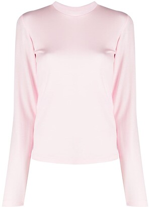 Styland Round Neck Long-Sleeve Top