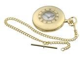 Jean Pierre gold-plated Half Hunter watch