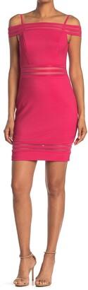 GUESS Off-The-Shoulder Mini Dress