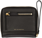 WANT Les Essentiels Black Portela Zip Wallet