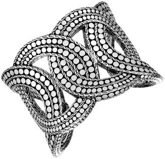 John Hardy Dot Sterling Silver Extra Large Cuffs