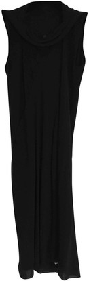 Rick Owens Black Silk Dresses