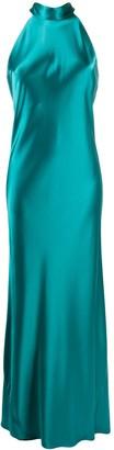 Galvan Satin Sienna dress